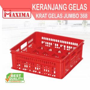 Keranjang Container Krat Gelas Jumbo 368