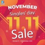 SINGLES' DAY NOVEMBER 11.11