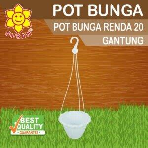 pot bunga plastik